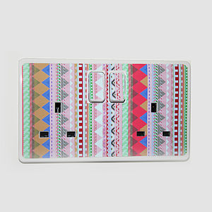 'Patterned Plug Socket Sticker' - wall stickers