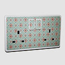 'Patterned Plug Socket Sticker'