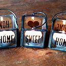 Tealight Candle Home Sweet Home Gifts