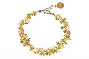 14k Gold Fill Star Bracelet - bracelets & bangles
