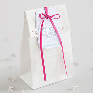LoveBrownies Luxury Branded Wedding Favour - cakes & sweet treats
