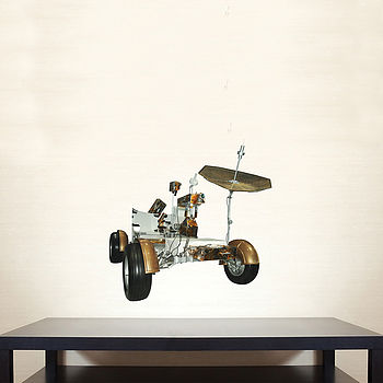 Space Moon Buggy Wall Stickers