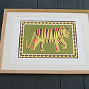 Animal Silk Screen Art Prints
