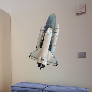 Space Shuttle Wall Sticker - baby's room