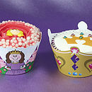 Little Princess Cupcake Wrappers