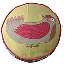 BIRD ROUND CUSHION