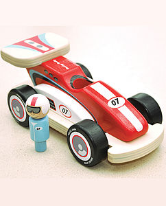 Rocky Racer Racing Car - cars & trains