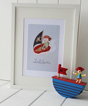 Personalised Pirate Picture Of Your Child