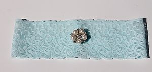 Lace Simply Lace Something Blue Bridal Garter - bridal lingerie