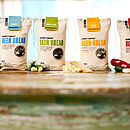 4 flavours of beer bread mix