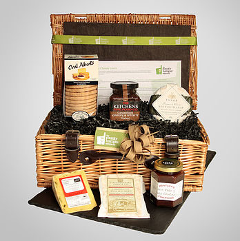 Staffordshire Cheese Lover Hamper