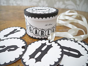 Alphabet Discs - decorative accessories