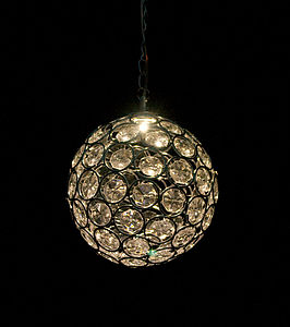 Solar Crystal Ball Light - room decorations