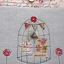 Whimsical Birdcage Kindle/Ipad Mini Case