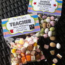 Teacher Treat Bags