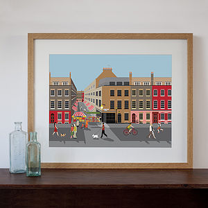 Brick Lane Art Print - cityscapes & urban art
