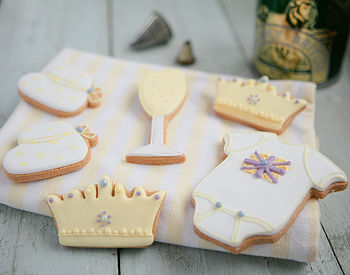 Royal Baby Biscuit Gift Set