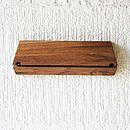 Oak Key Hook And Mail Organiser
