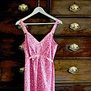 Rhubarb Dapple Print Fleur Nightdress