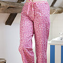 Rhubarb Dapple PJ Bottoms