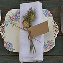 Nigella Napkin Posy Set Of Ten