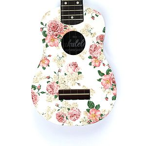 Rose Ukulele - stationery & creative activities