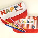 Girl's Personalised Pencil Case