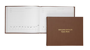 Personalised Leather Game Book - sport-lover