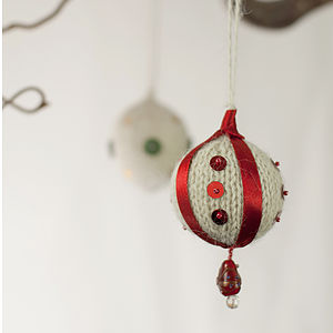 Hanging Bauble Knitting Kit
