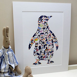 P Is For Penguin Print