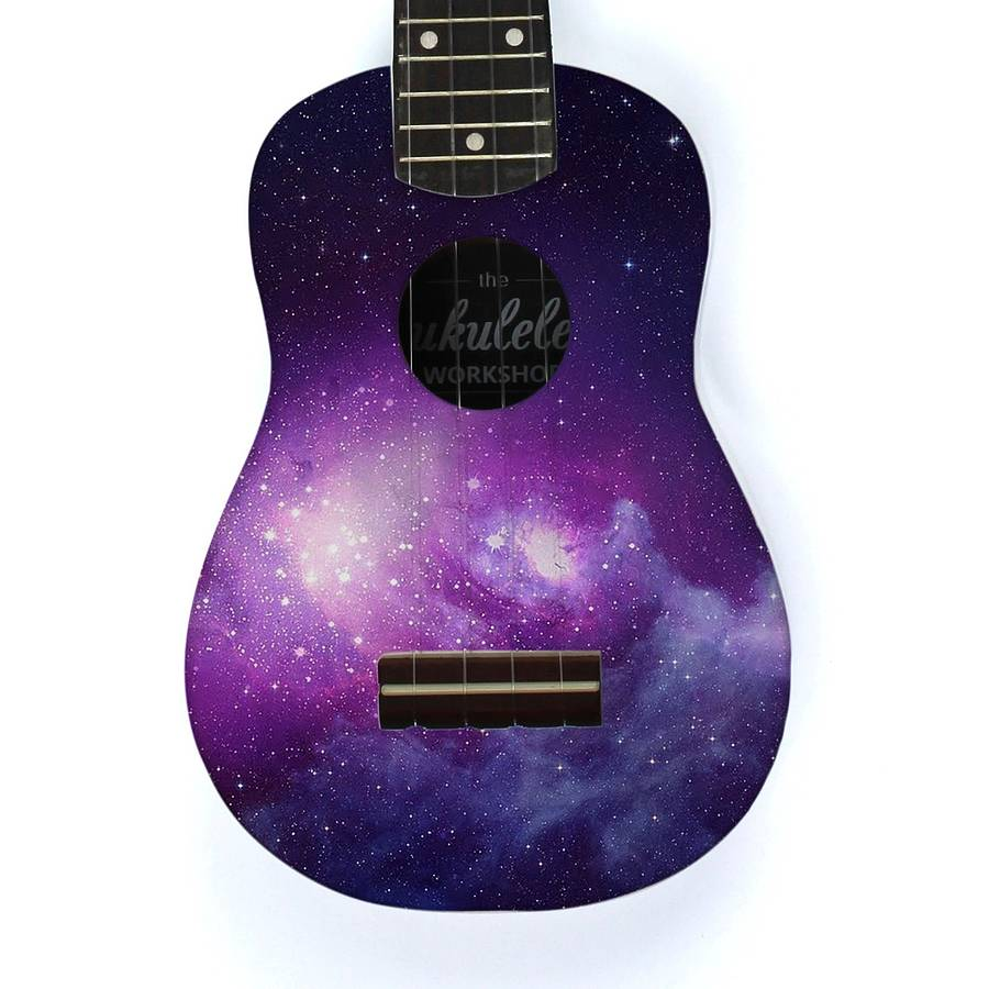 galaxy ukulele by the ukulele workshop