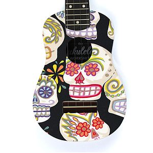 Sugar Skull Ukulele - view all gifts for babies & children