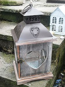 Rustic Storm Lantern - outdoor lights