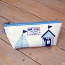 Sail Boats Nautical Toiletry Wash Bag Extra Small