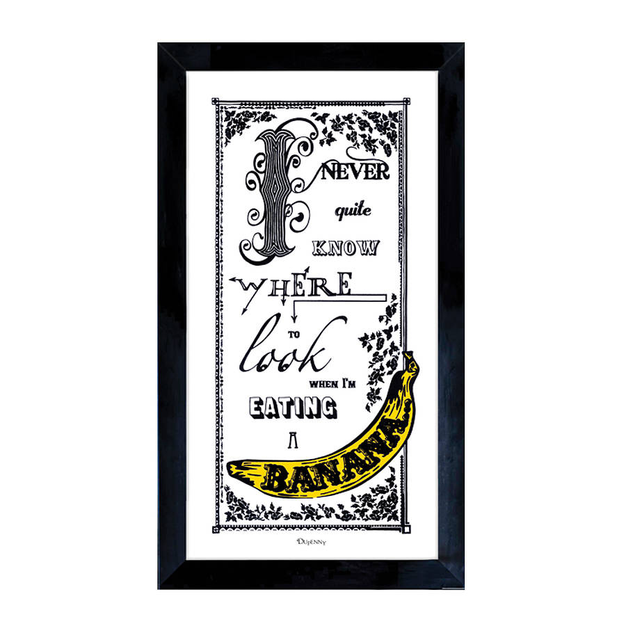 Banana Fine Art Print