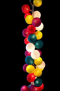Fairy Lights Rainbow Drops