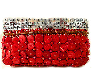 Coconut Shell Clutch - clutch bags
