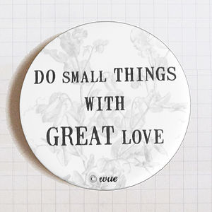 Pocket Mirror Do Small Things…