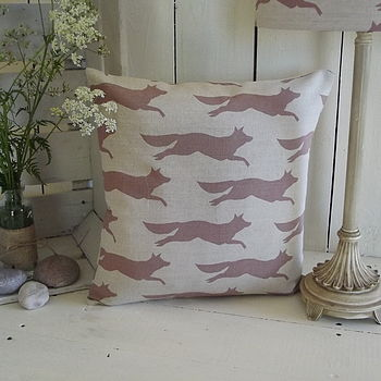 Flying Fox Irish Linen Cushion