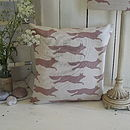 ' Flying Fox ' Irish Linen Cushion
