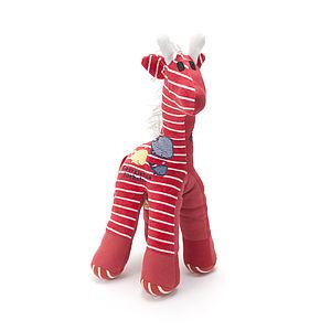 Personalised Baby Clothes Keepsake Giraffe