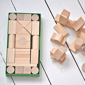 Handmade Wooden Blocks - gifts under £25