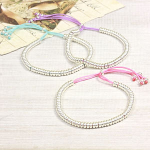 Delicate Links Friendship Bracelet - bracelets & bangles