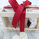 Personalised Chocolate Fondue And Marshmallow Set