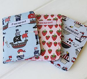 Kids Passport Holders - boys' bags & wallets