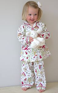 Woodland Brushed Cotton Pyjamas - nightwear