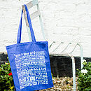 'Rules To Shop By' Canvas Shopper