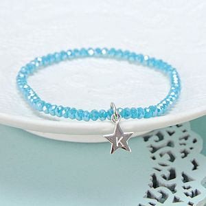 Personalised Mini Gem Bracelet