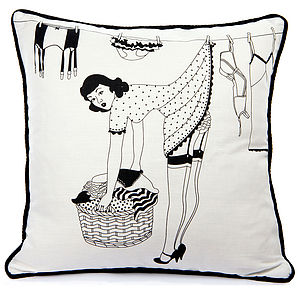 50's Housewives Cushion - cushions