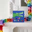 Snappy Birthday Croc Greetings Card